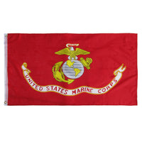 US Marine Corps 3'x5' Ft Banner Flag