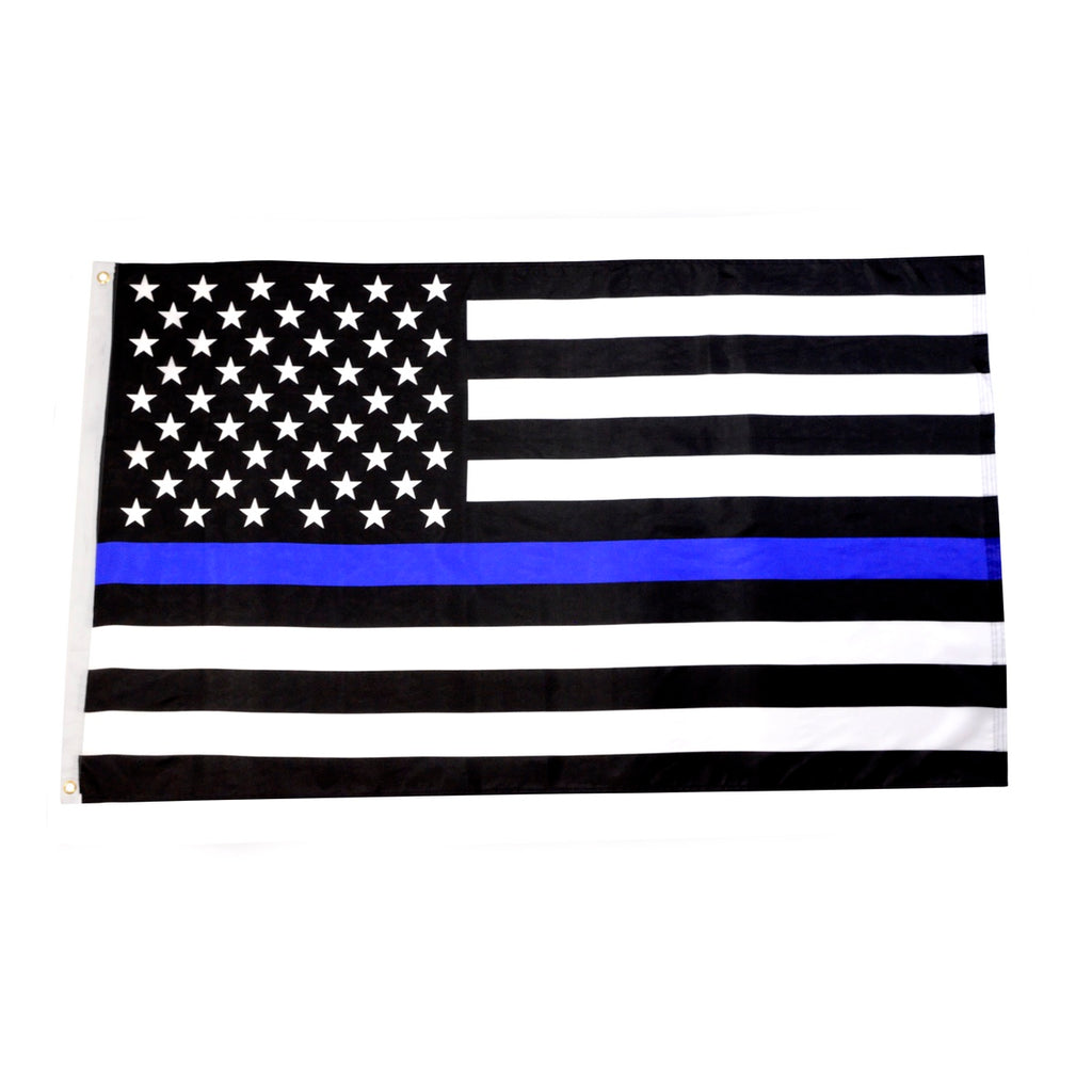3x5 Ft. Blue Lives Matter US Flags