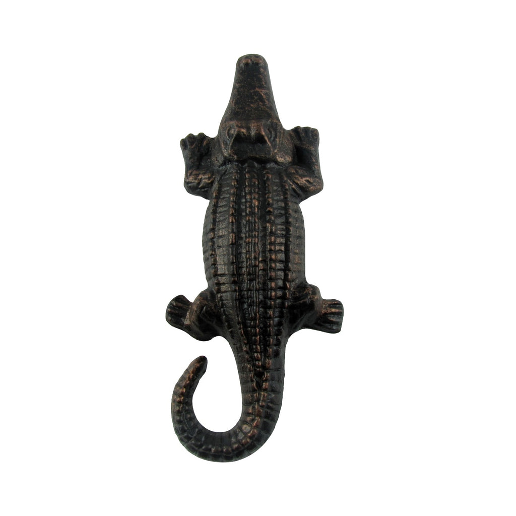 Rustic Style Metal Alligator Push or Pull Door Handle