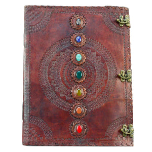 Extra-Large Leather Wiccan Journal