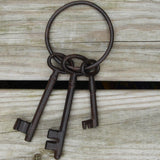 Rustic Cast Iron Keys