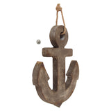 Large Nautical 3D Anchor Wall Mount Art