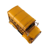 Vintage Model of Short Yellow School Bus
