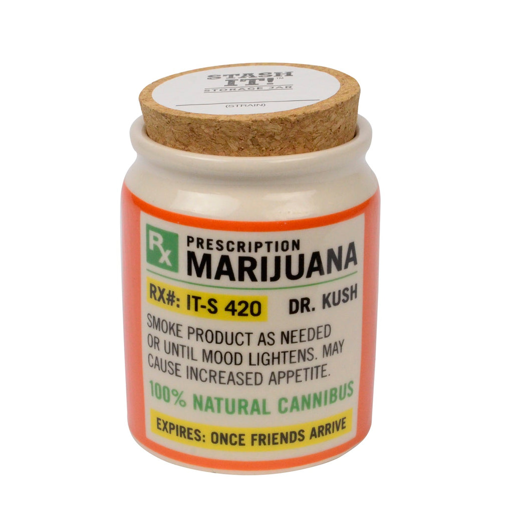 Weed Stash Jar Novelty Gift