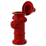 Die Cast Red Fire Hydrant Firefighter Pencil Sharpener