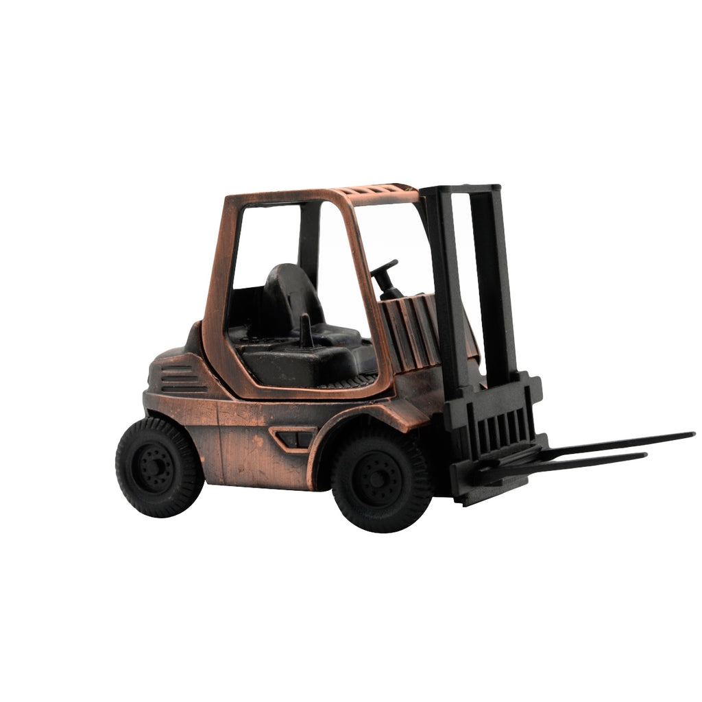 Miniature Die Cast Metal Forklift Pencil Sharpener Office Gift