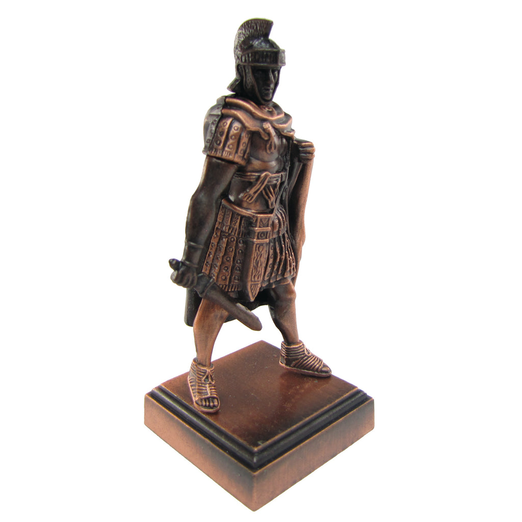 Bronze Metal Roman Gladiator w/ Warrior Mask Pencil Sharpener