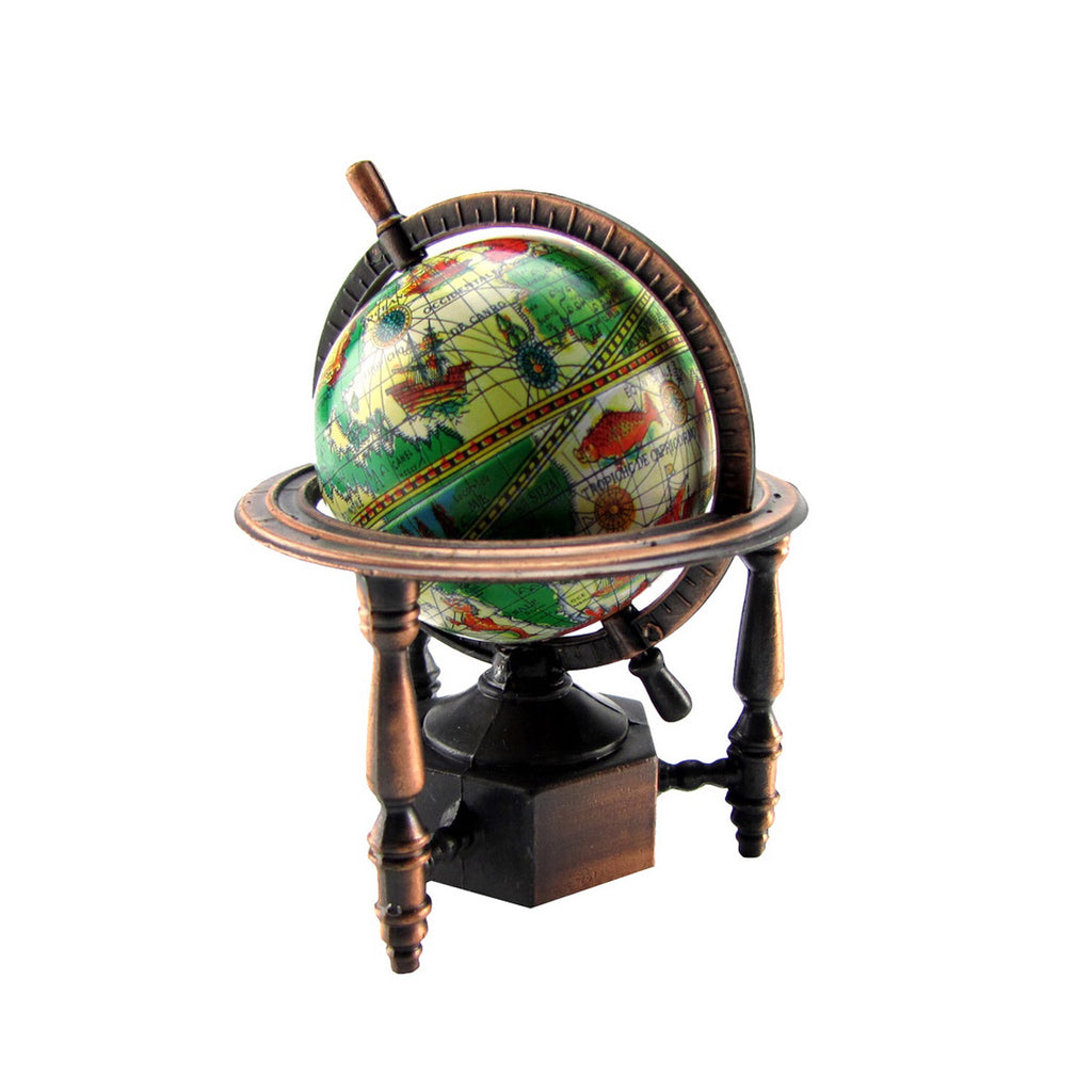 1:12 Miniature World Globe Dollhouse Pencil Sharpener