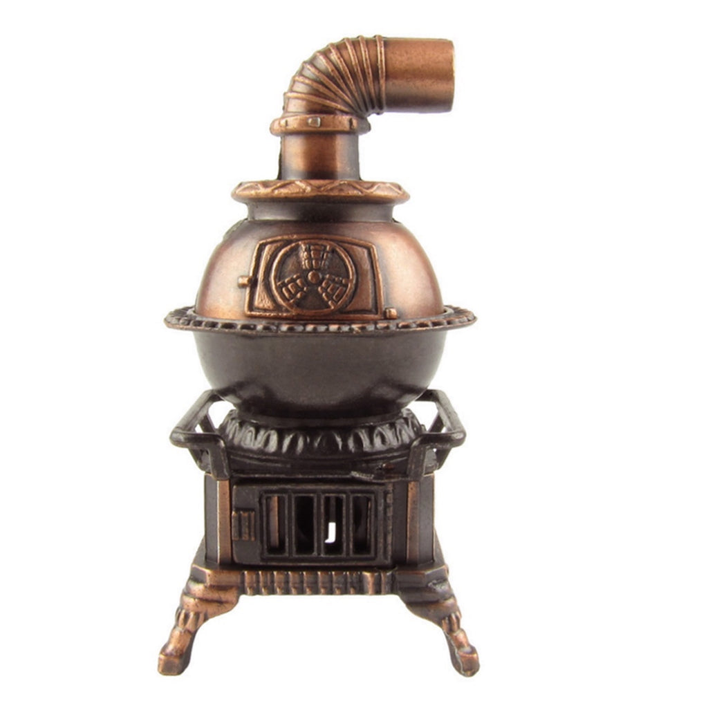 1:12 Scale Miniature Pot Belly Stove Dollhouse Accessory