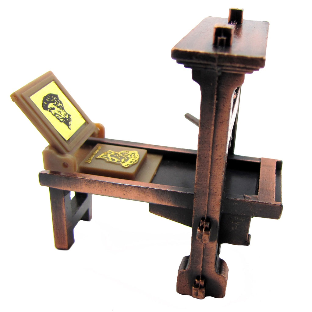 Die Cast Printing Press 1:48 Scale Diorama Accessory Pencil Sharpener