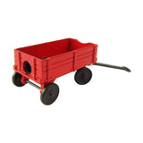 1:12 Scale Miniature Red Wagon Dollhouse Accessory