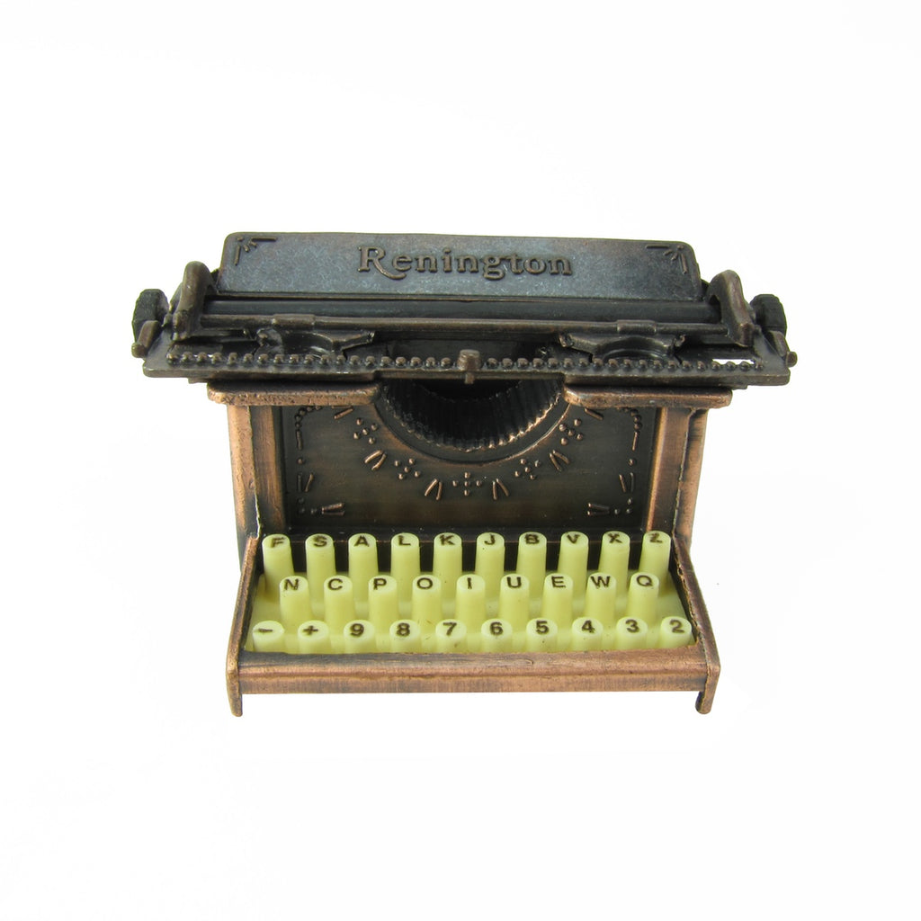 1:6 Scale Antique Typewriter Diorama Dollhouse Accessory