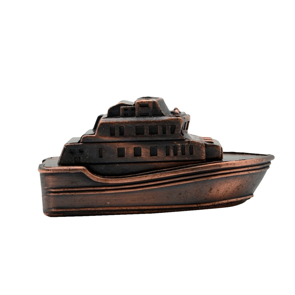 Novelty Metal Yacht Pencil Sharpener Boater Gift