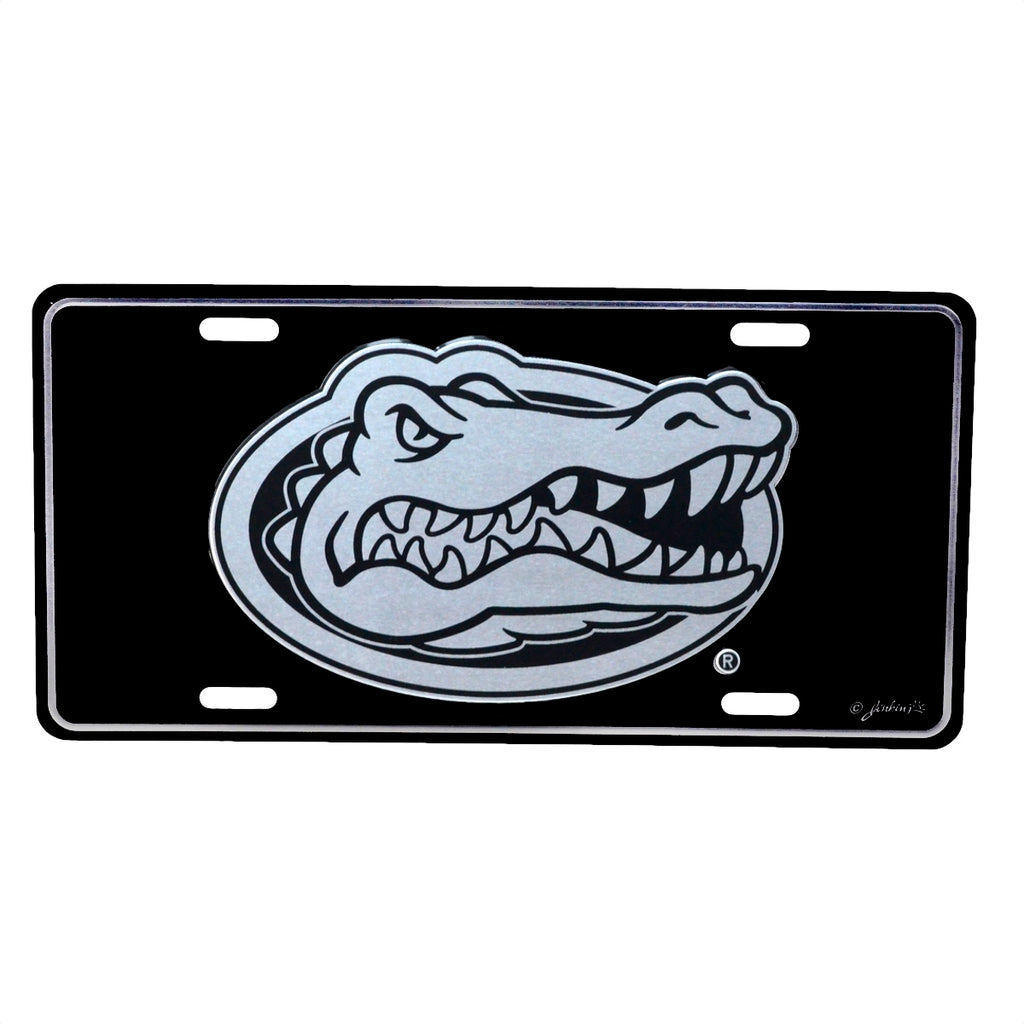 University of Florida Gators Black Mirrored License Plate