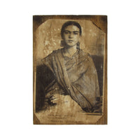 Mexican Painter Frida Kahlo Rivera Wood Sign Home Decor