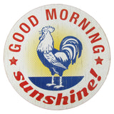 Good Morning Sunshine Rustic Kitchen Wall Sign