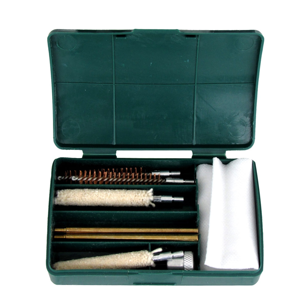 Pistol Cleaning Set Complete with 8 Brushes