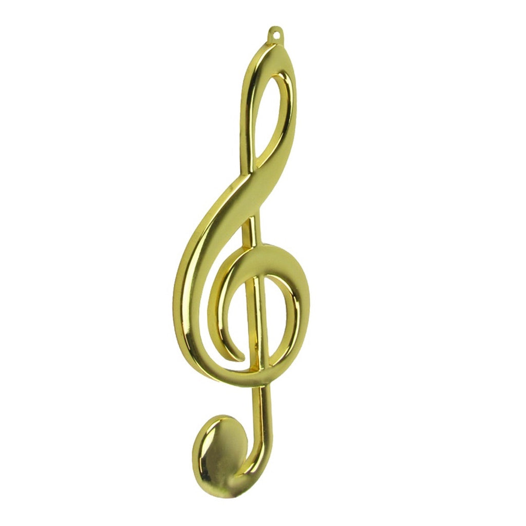 Brass Treble Clef Christmas Gifts Ornament