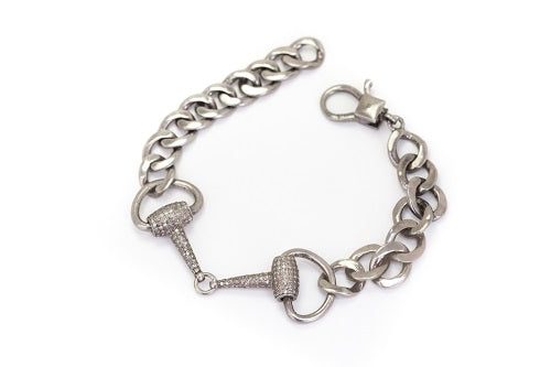 S.Row Designs Diamond Bit Bracelet