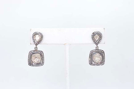 S.Row Designs Diamond Slice Drop Earring