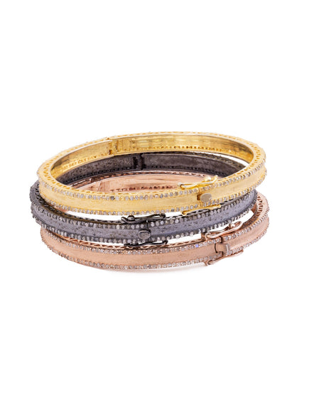 S. Row Designs Diamond Edged Bangles