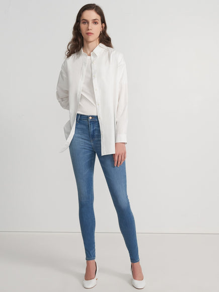J Brand Sophia Mid-Rise Super Skinny in Limitless (Joy)