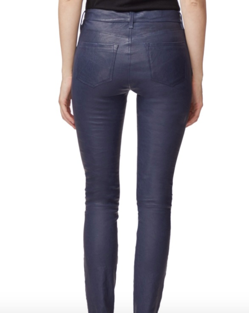J Brand L8001 Leather Pant in Fitzroy