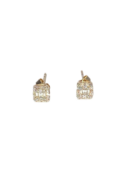 S.Row Designs Ascend 14K Gold and Diamond Earrings