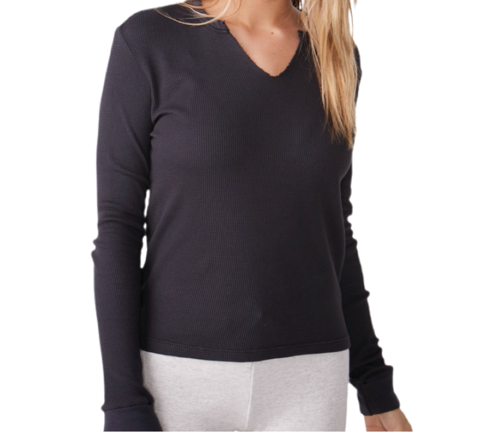 Monrow Baby Thermal Henley