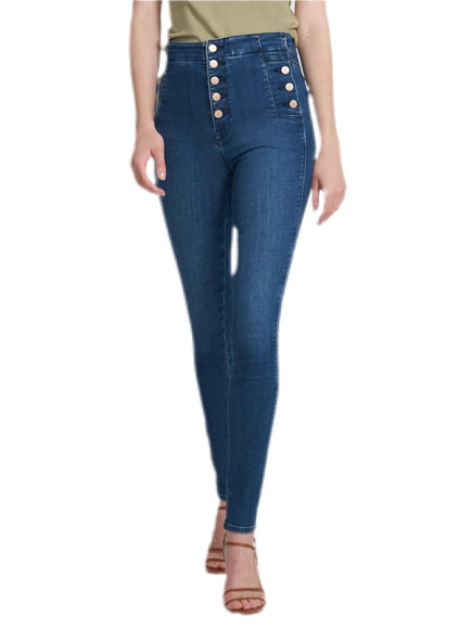 J Brand Sky High Skinny Denim in Moxie