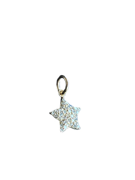 S.Row Designs 14K and Diamond Star Pendant