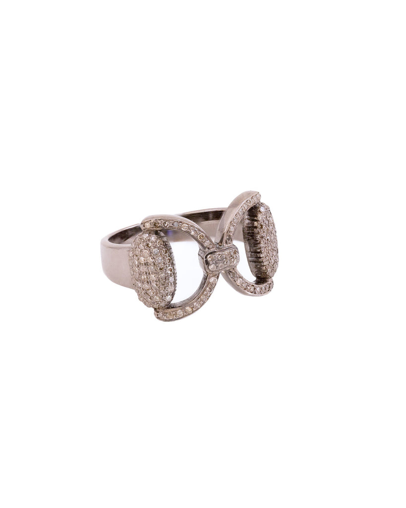 S. Row Designs Pave Diamond Bit Ring