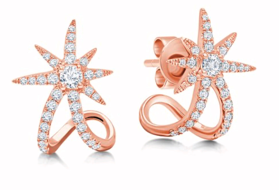 Graziela Starburst Ear Cuffs