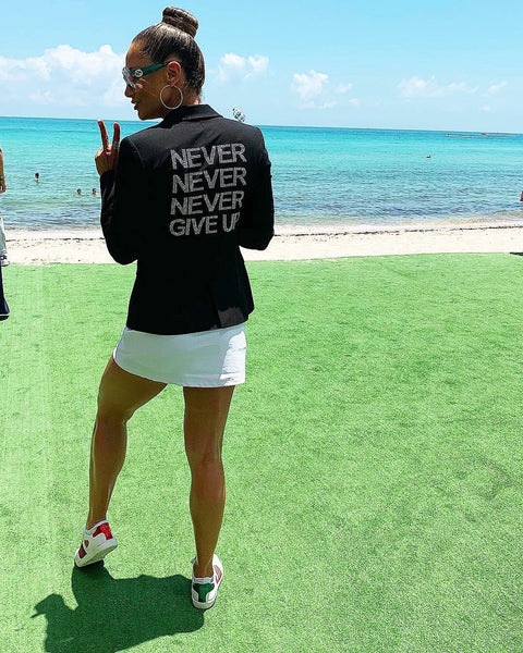 Never Never Never Give Up Blazer