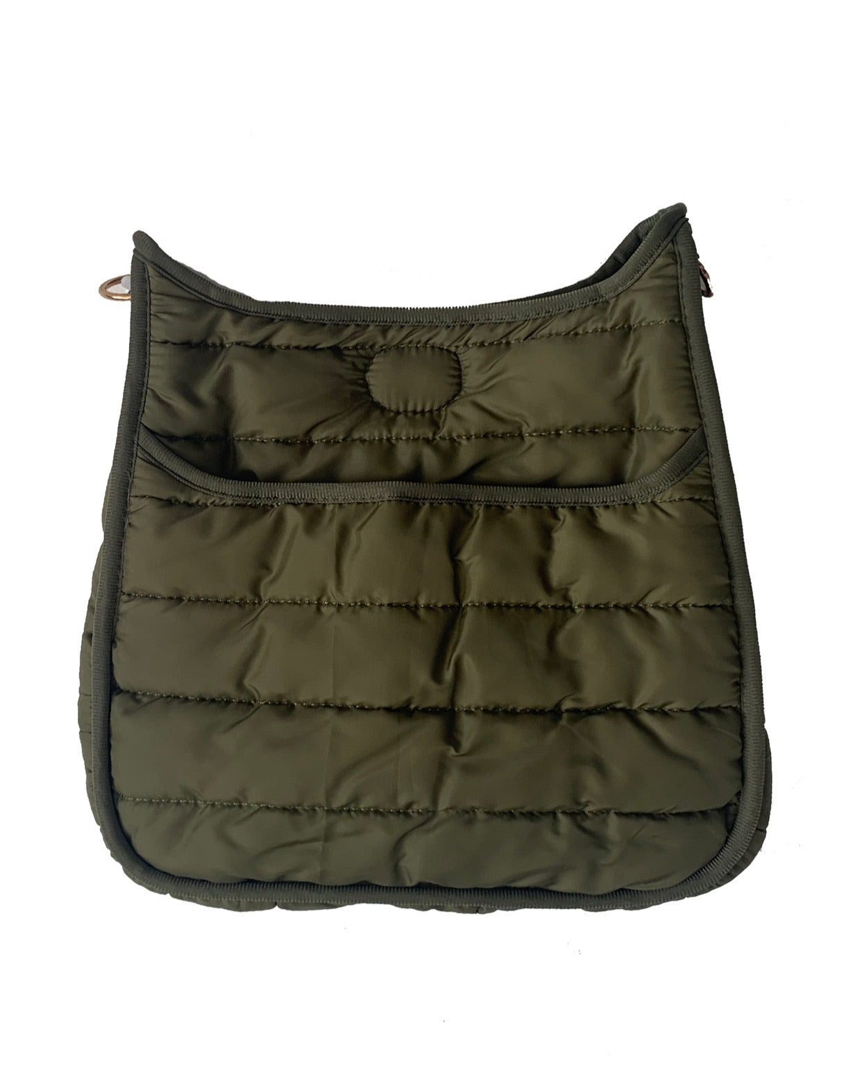 Puffy Messenger Bag (STRAP SOLD SEPARATELY)