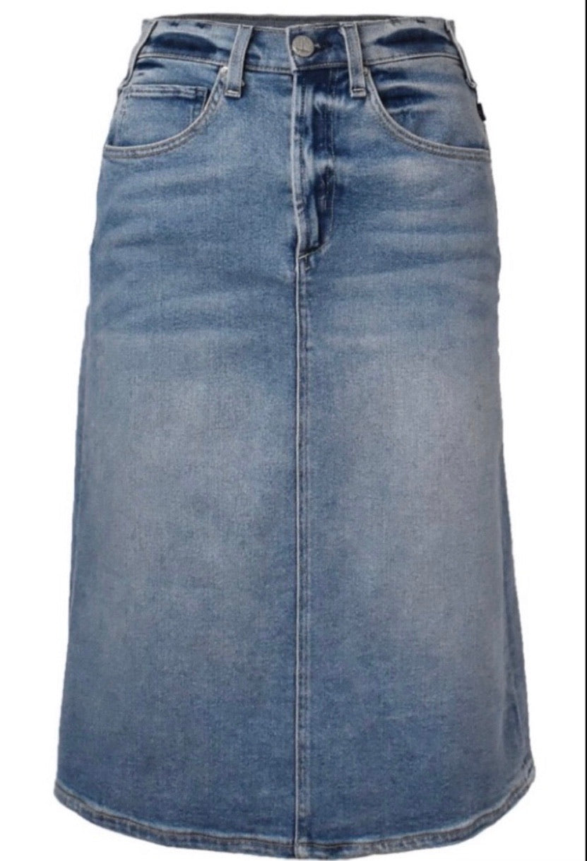 McGuire Denim I Got You Babe Denim Skirt