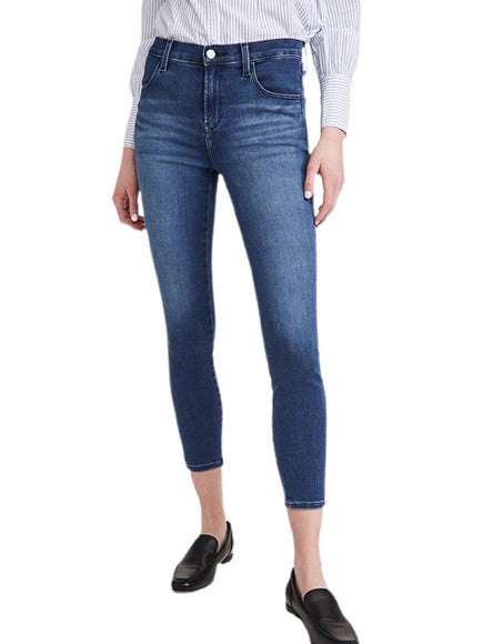 J Brand Alana High Rise Crop Skinny in Intrepid