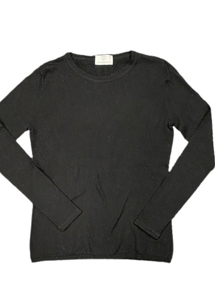 Cashmere Solid Crew Neck Sweater
