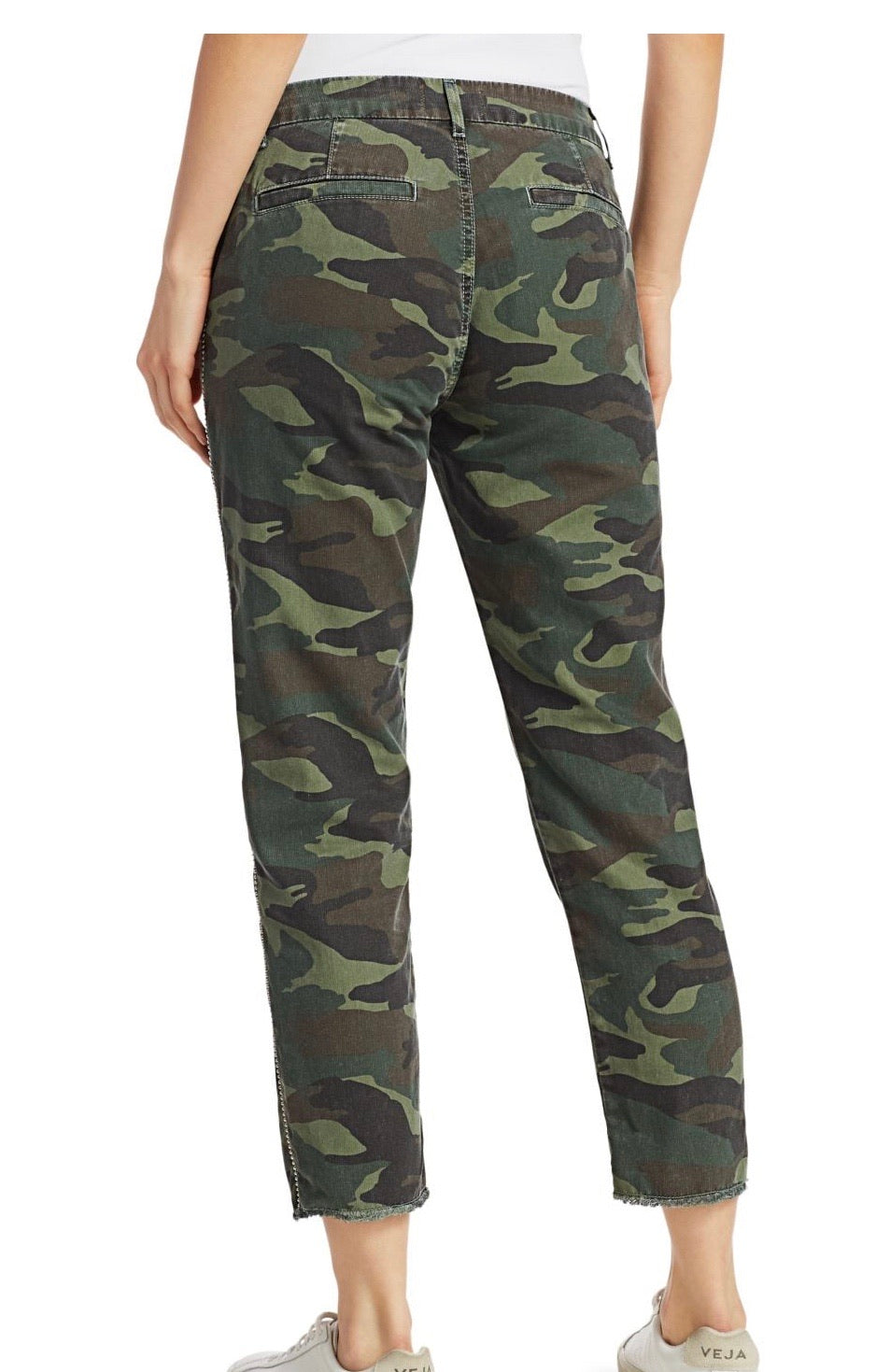 Sundry Nº69 Camo Trouser with Studs