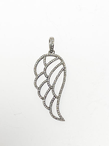 S.Row Designs Diamond Wing Pendant