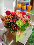 Autumn Flowers Gift Bag