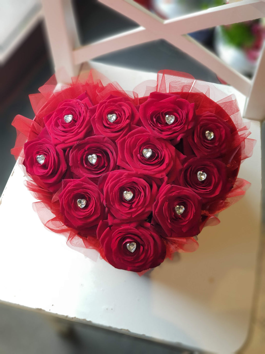 Heart Hat box