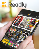 <b>Readly</b><br><i><small>Digitala Magasin & Tidningar</br></i></small>