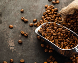 <b>Coffee Beans</b><br><i><small>Your Coffee Here</br></i></small>