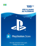 <b>PlayStation Wallet</b><br><i><small>100 kr</br></i></small>