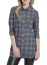 Boston Button Down - Check Print