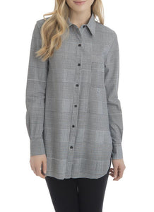 Boston Button Down - plaid