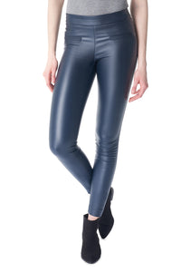 Mara Waxed Pant- Navy