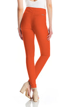 Mara Twill Pant - Burnt Orange