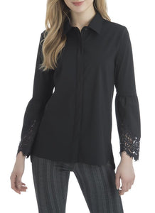 Manhattan Blouse - black